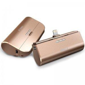 Дополнительный аккумулятор для Apple Lightning - iWalk Link Me3000L золотистый
