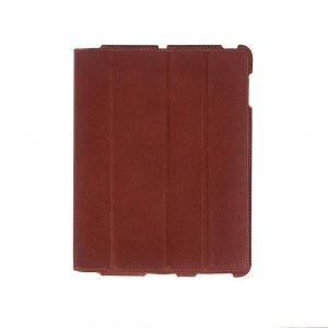 Чехол-книжка для Apple iPad 4/3/2 - Dublon Leatherworks Smart Perfect красный