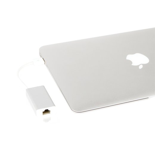 Адаптер Moshi USB to Ethernet серебристый