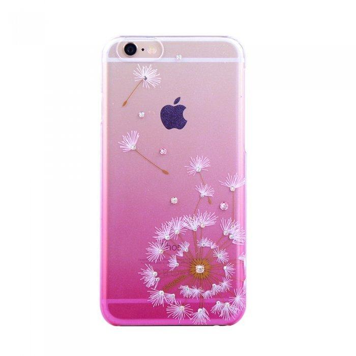 Чехол-накладка для Apple iPhone 6/6S - Kingxbar Dandelion Flower розовый