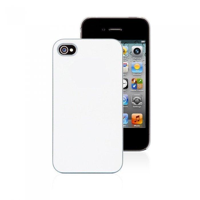 Пластиковый чехол Moshi iGlaze 4 белый для iPhone 4/4S