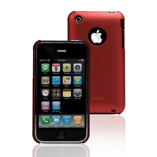 Пластиковый чехол Moshi iGlaze красный для iPhone 3G