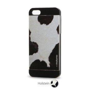 Чехол-накладка для Apple iPhone 5/5S - Motomo Cow черный