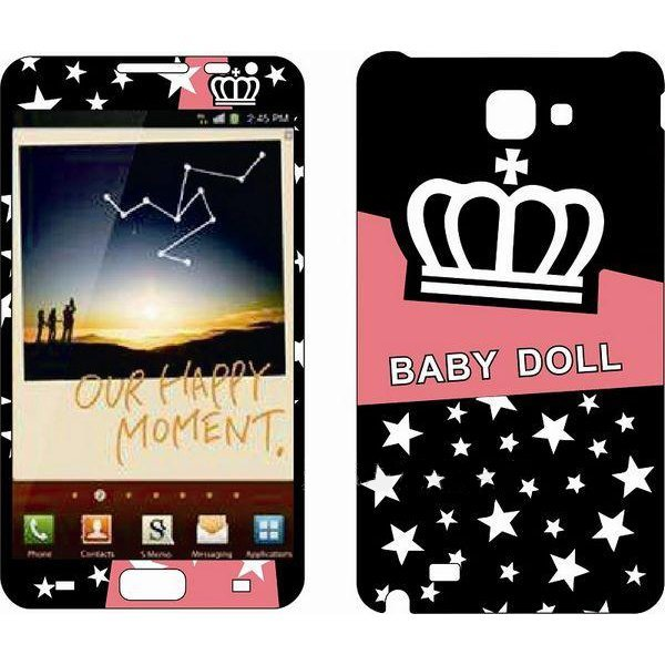 Наклейка для Samsung Galaxy Note i9220 - MTV Baby Doll