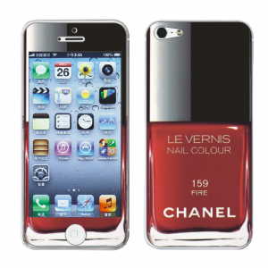 Наклейка для Apple iPhone 5/5S - MTV Skins Chanel 159