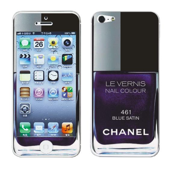 Наклейка для Apple iPhone 5/5S - MTV Skins Chanel 461
