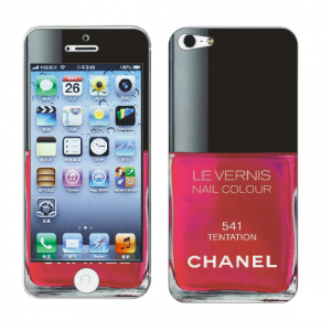Наклейка для Apple iPhone 5/5S - MTV Skins Chanel 541