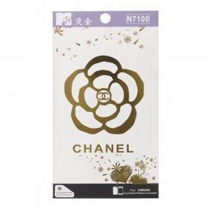 Наклейка для Samsung Galaxy Note 2 N7100 - MTV Chanel Flower