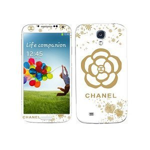 Наклейка для Samsung Galaxy S4 i9500 - MTV Chanel Flower