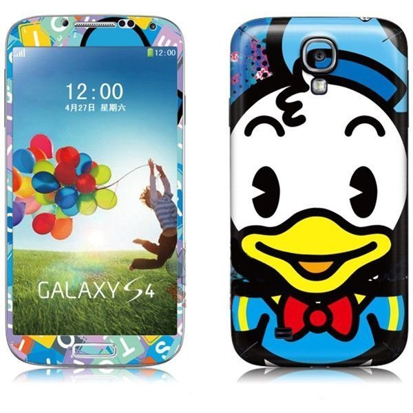 Наклейка для Samsung Galaxy S4 i9500 - MTV Donald Duck