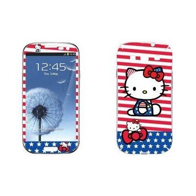Наклейка для Samsung Galaxy S3 i9300 - MTV Hello Kitty