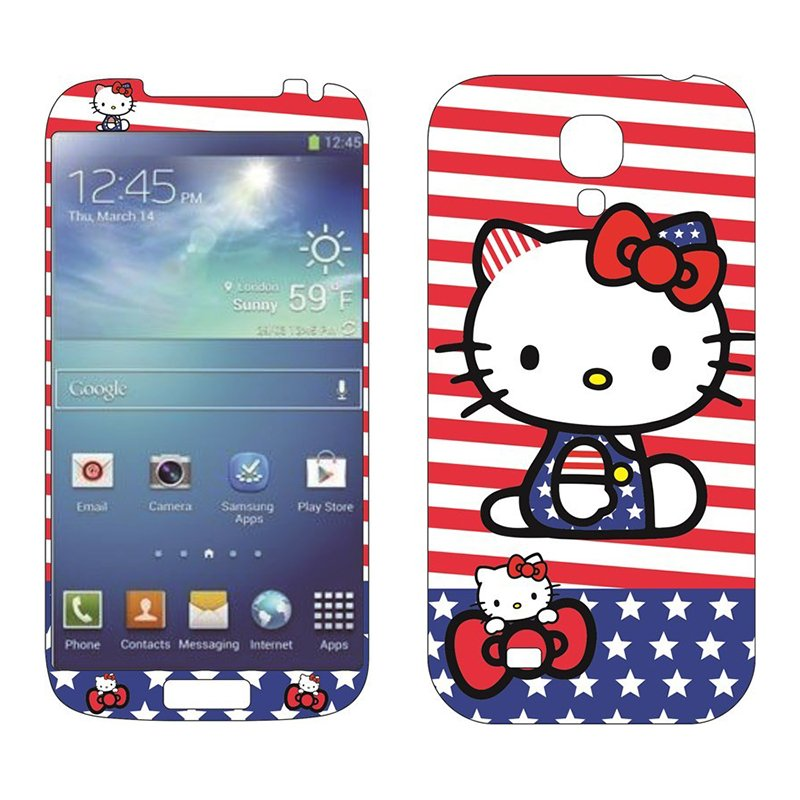 Наклейка для Samsung Galaxy S4 - MTV Hello Kitty