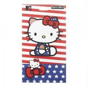 Наклейка для Sony Xperia Z L36h - MTV Skin Hello Kitty
