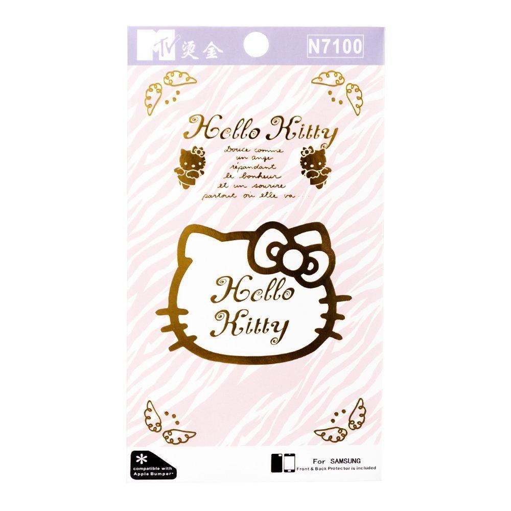 Наклейка для Samsung Galaxy Note 2 N7100 - MTV Hello Kitty