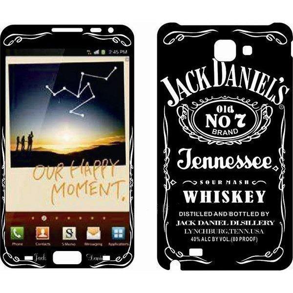 Наклейка для Samsung Galaxy Note i9220 - MTV Jack Daniel`s No.7