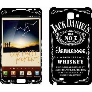 Наклейка для Samsung Galaxy Note i9220 - MTV Jack Daniel`s No.7