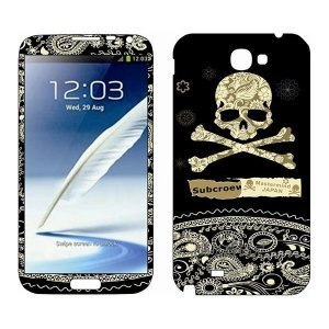 Наклейка для Samsung Galaxy Note II N7100 - MTV Jolly Roger