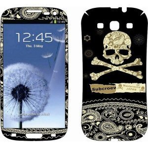 Наклейка для Samsung Galaxy S3 i9300 - MTV Jolly Roger