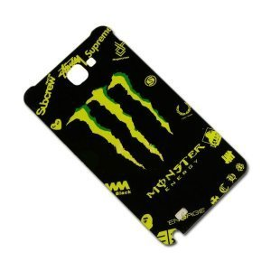 Наклейка для Samsung Galaxy Note i9220 - MTV Monster Energy