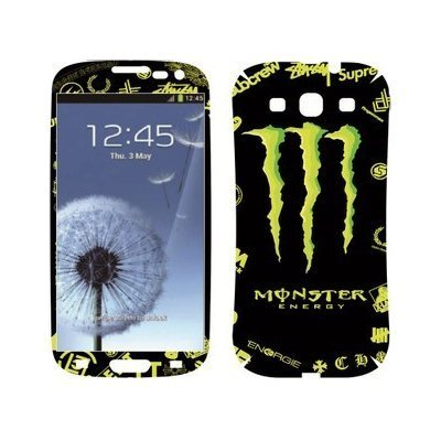 Наклейка для Samsung Galaxy S3 i9300 - MTV Monster Energy