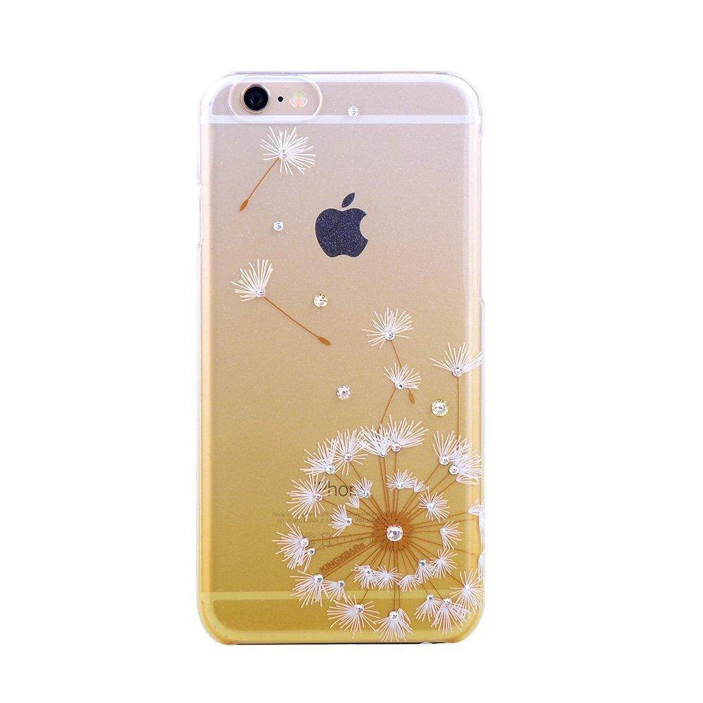 Чехол-накладка для Apple iPhone 6/6S - Kingxbar Dandelion Flower золотистый