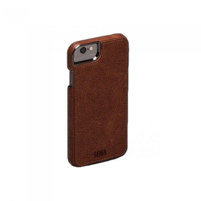 Чехол-накладка для iPhone 6 Plus/6S Plus - Sena Heritage Lugano коричневый