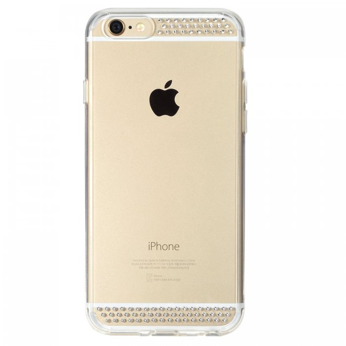 Чехол-накладка для Apple iPhone 6/6S - Ringke Noble Line21 прозрачный