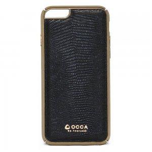 Чехол-накладка для Apple iPhone 6/6S - OCCA Lizard черный