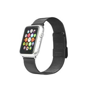 Ремешок для Apple Watch 42 мм - iBacks Stainless Steel черный