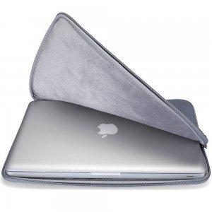 "Чехол-карман для Apple MacBook Air 11""/ MacBook 12"" - Runetz Soft Sleeve серый"