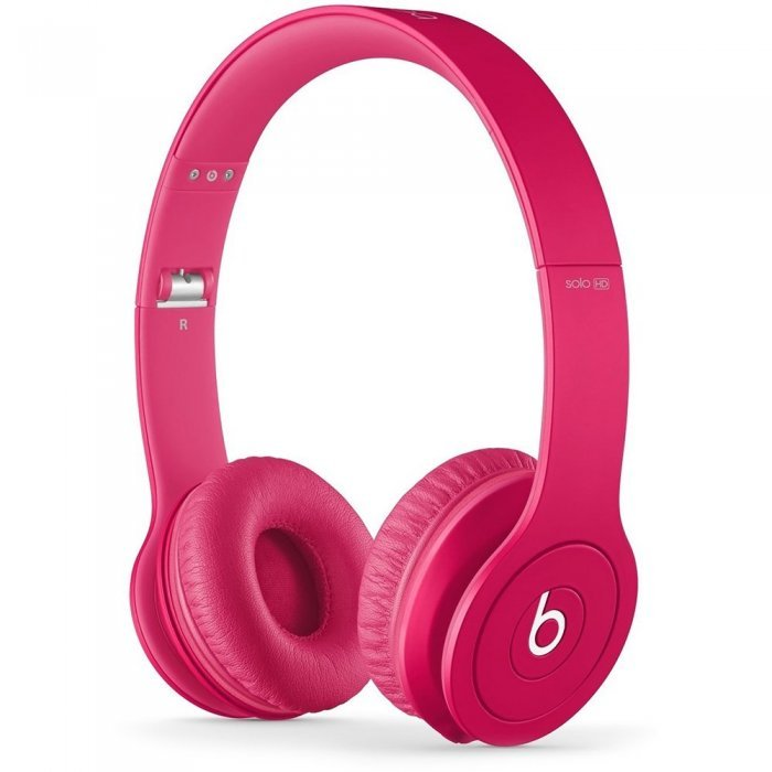 Наушники BEATS Solo HD Monochromatic розовые