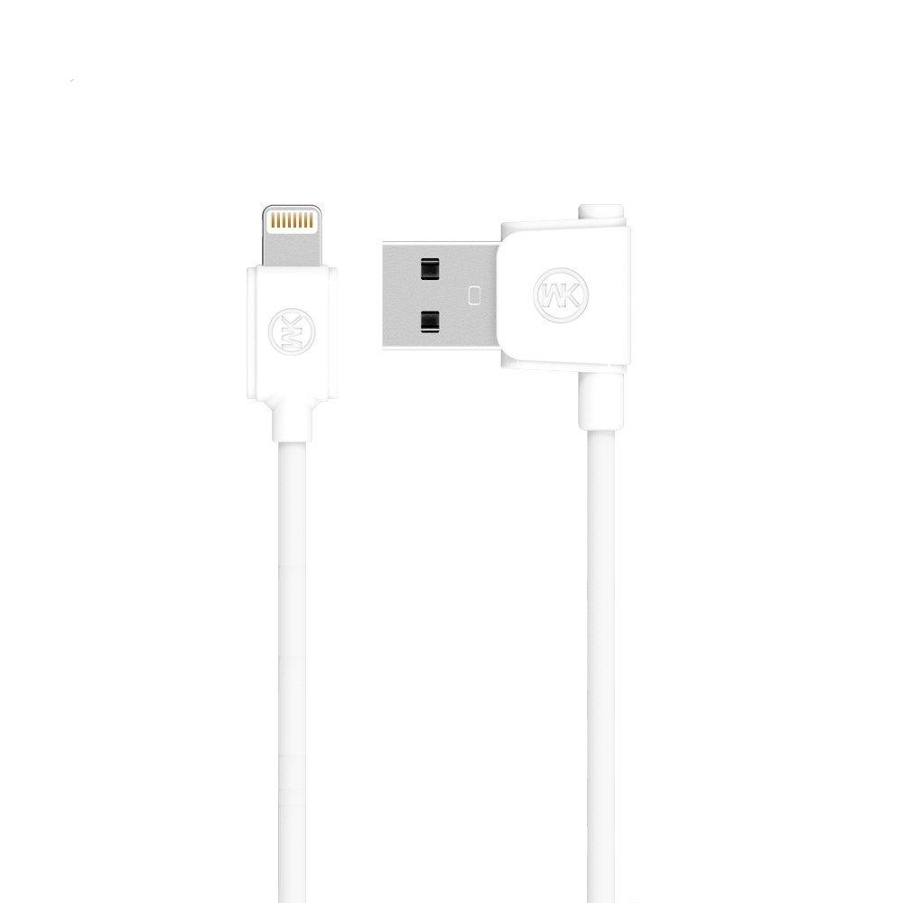 Кабель Lightning для Apple iPhone/iPad/iPod - WK Junzi белый