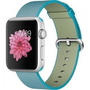 Нейлоновый ремешок COTEetCI W11 голубой для Apple Watch 38/40 мм
