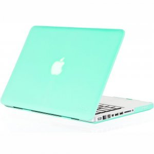 "Чехол-накладка для Apple MacBook Pro 13"" - Kuzy Rubberized Hard Case мятный"