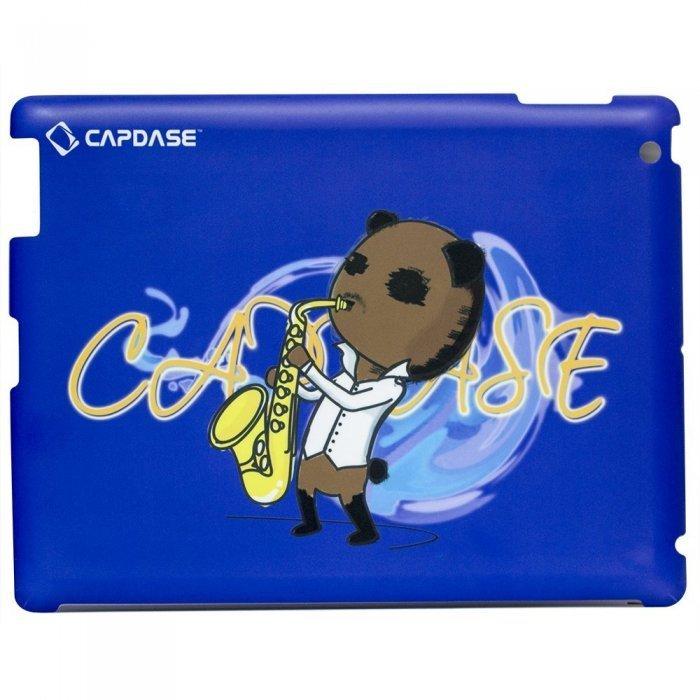 Наклейка для Apple iPad 2/3/4 - Capdase ProSkin Don Jazz синяя
