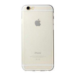 Полупрозрачный чехол iBacks Reveal белый для iPhone 6/6S