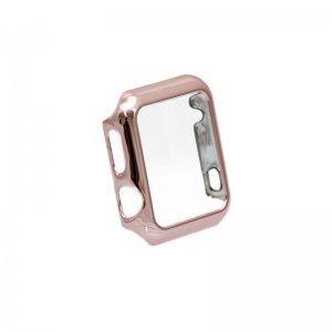 Чехол-накладка для Apple Watch 38мм - Coteetci розовое золото
