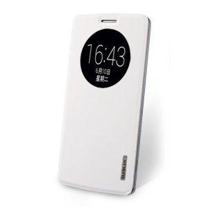 Чехол (книжка) Baseus Primary color белый для LG G3