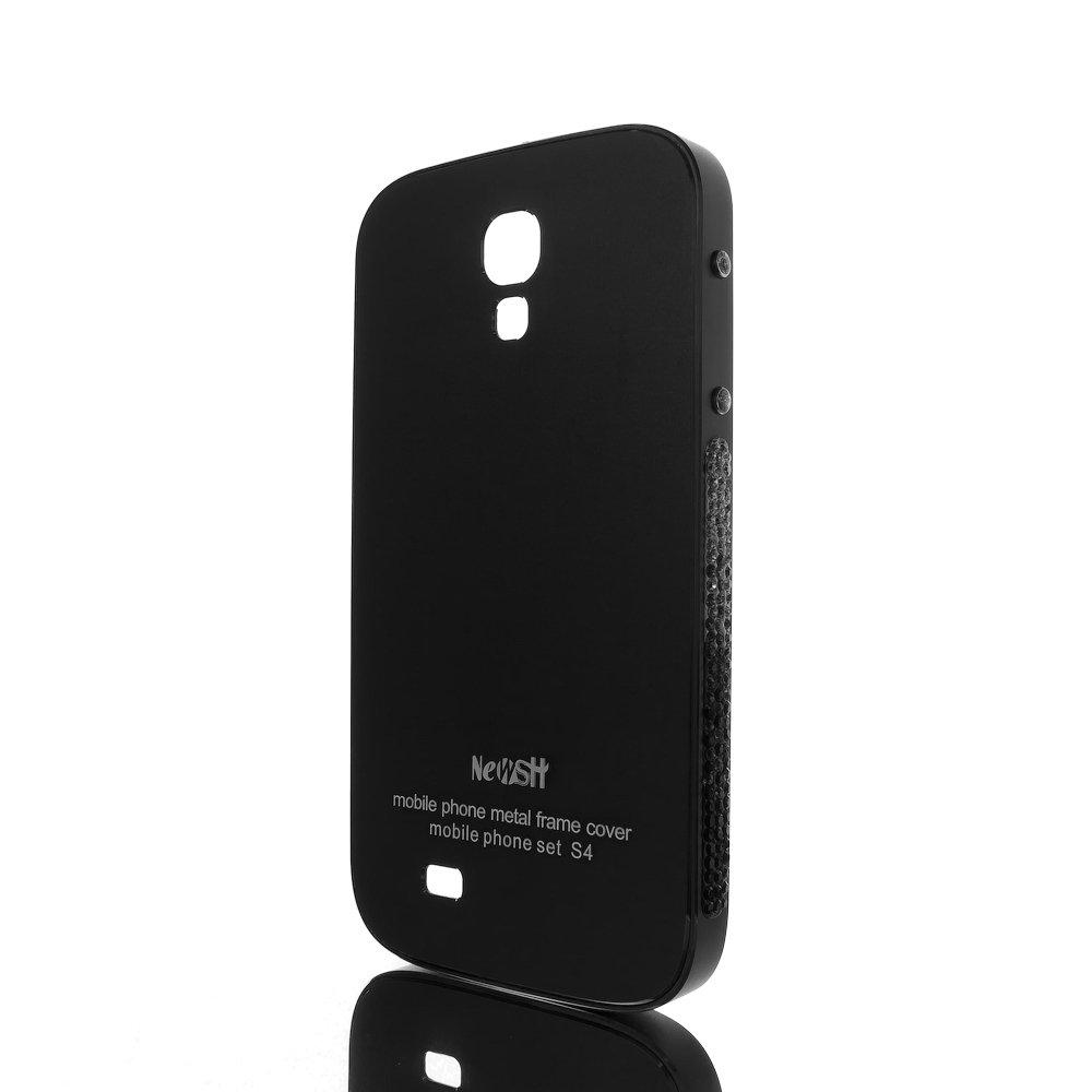 Чехол-накладка для Samsung Galaxy S4 - NewSH Swarovski design черный