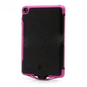 Чехол с доп.аккумулятором для Apple iPad mini 6500 мАч черный + розовый