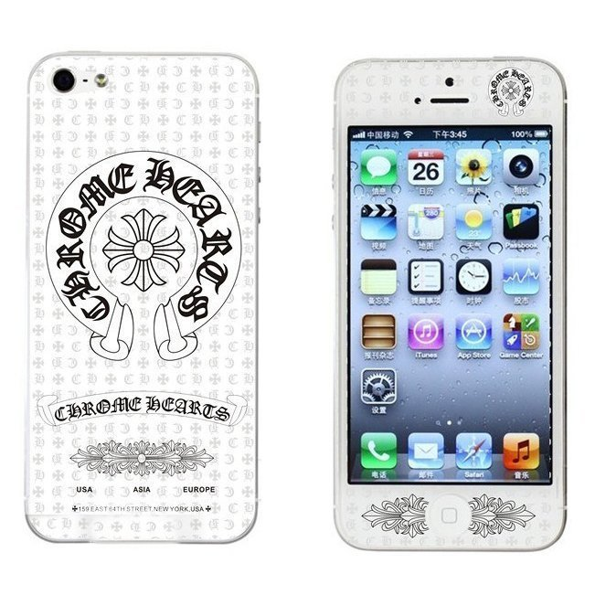 Наклейка для Apple iPhone 5/5S - RJ Skin Chrome Hearts