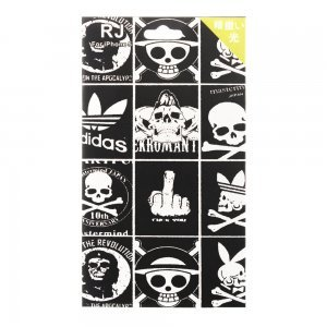 Наклейка для Apple iPhone 5/5S - RJ Skin Skulls