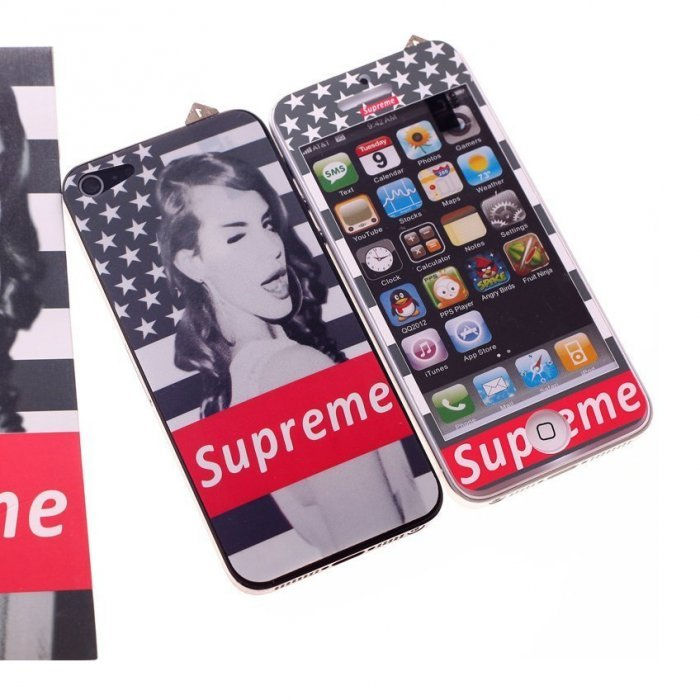 Наклейка для Apple iPhone 5/5S - RJ Skin Superme
