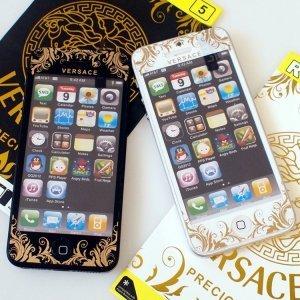 Наклейка для Apple iPhone 5/5S - RJ Skin VERSACE brigth