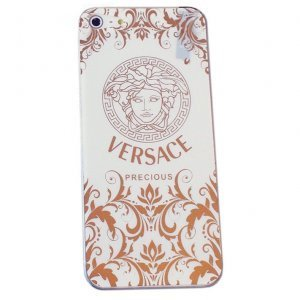 Наклейка для Apple iPhone 5/5S - RJ Skin VERSACE brigth