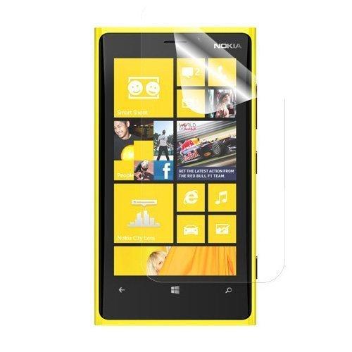 Защитная пленка для NokiaLumia920 - Screen Ward Crystal Clear прозрачная глянцевая
