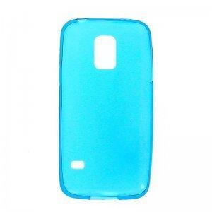Чехол-накладка для Samsung Galaxy S5 mini - 0.3мм голубой