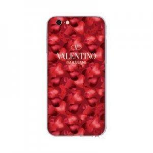 Чехол с рисунком WK Valentino Garavani красный для iPhone 6/6S