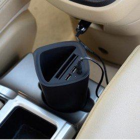 Автомобильный держатель + зарядка ORICO Power-Cup Smart Car черный