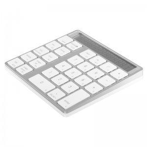 Цифровая клавиатура COTEetCI Bluetooth Digital серебристая